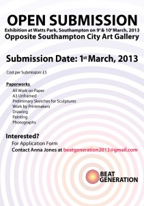 Beat Generation Submission 1st March 2013
